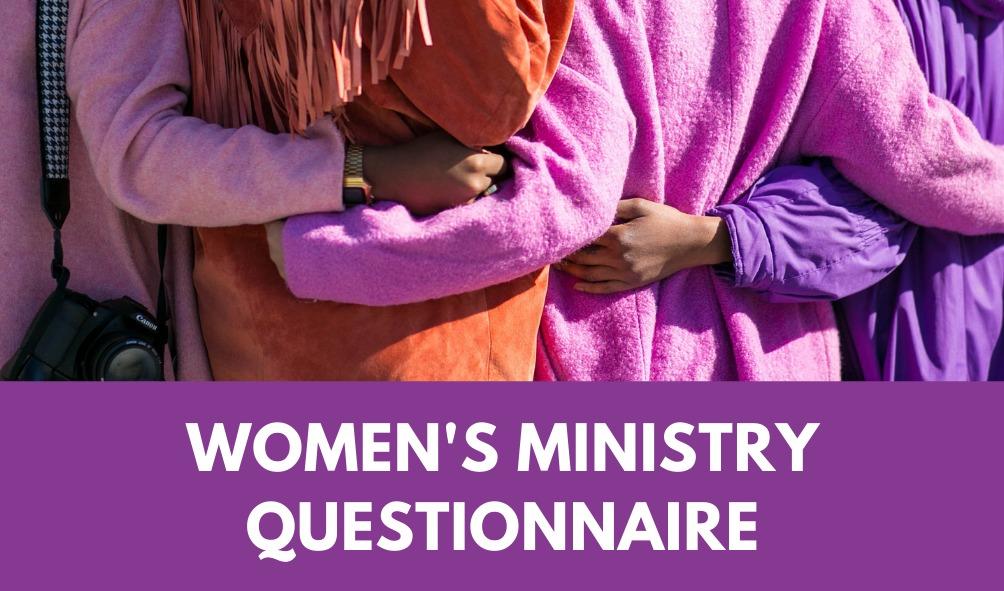 Women's Ministry Questionnaire